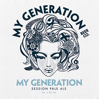 My Generation Pale Ale, Cask 9 gal x 1