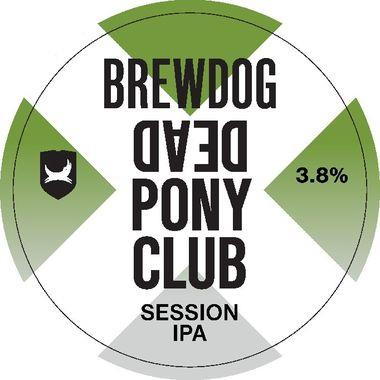 Brewdog Dead Pony Club, Keg 50 lt x 1