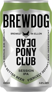 Brewdog Dead Pony Club, Can