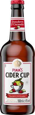 Pimm's Strawberry & Cucumber Cider Cup 500 ml x 8