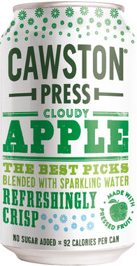 Cawston Press Sparkling Apple, Can 330 ml x 24