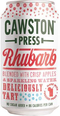 Cawston Press Sparkling Apple & Rhubarb, Can 330 ml x 24