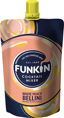 Funkin Peach Bellini 100ml