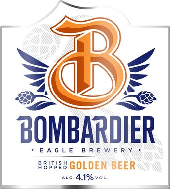 Bombardier Burning Gold, Cask 9 gal x 1