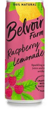 Belvoir Sparkling Raspberry Lemonade Presse, Can 250 ml x 12