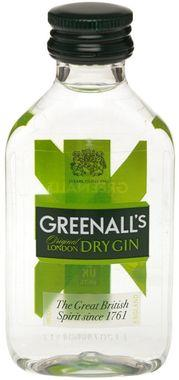 Greenall's Gin Miniatures, PET 5cl