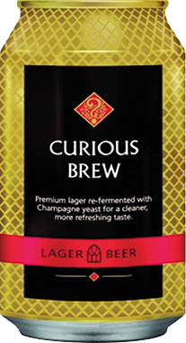 Curious Brew, Can 330 ml x 24