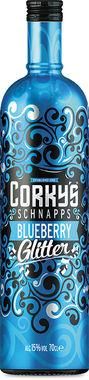 Corky's Blueberry Glitter 70cl