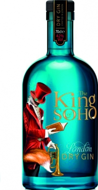 King of Soho London Dry Gin 70cl
