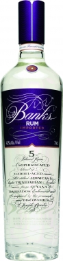 Banks 5 Island White Rum 70cl