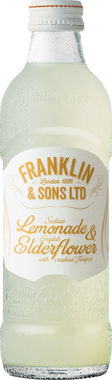 Franklin & Sons Lemon & English Elderflower with crushed Juniper 275 ml x 12
