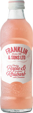 Franklin & Sons Apple and Rhubarb 275 ml x 12