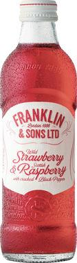 Franklin & Sons Strawberry & Raspberry 275 ml x 12