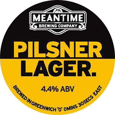 Meantime Pilsner Keg 30 lt x 1
