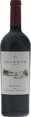 Shannon Merlot, Elgin Valley