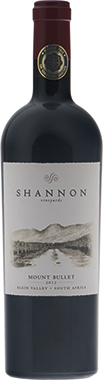 Shannon Mount Bullet Merlot, Elgin Valley