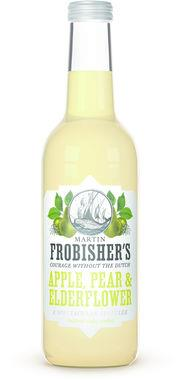 Martin Frobisher's Apple, Pear & Elderflower Sparkler, NRB 330 ml x 12