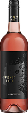 Wicked Lady White Zinfandel, California