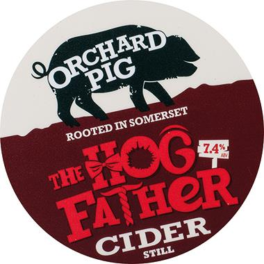 Orchard Pig Hogfather Medium Still Cider, BIB 20 lt x 1