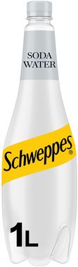 Schweppes Soda 1L PET 1 lt x 6