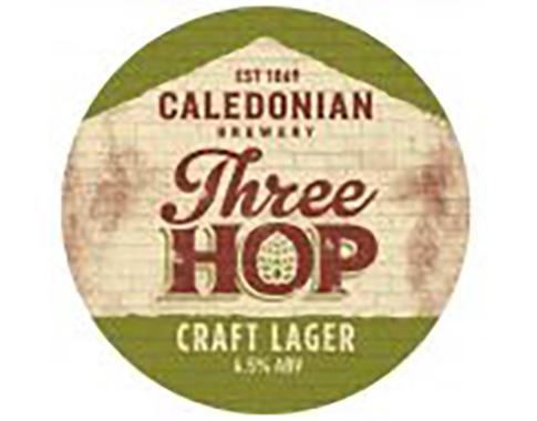 Caledonian 3 Hop, Keg