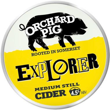 Orchard Pig Explorer Medium Still Cider, BIB 20 lt x 1