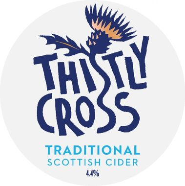 Thistly Cross Traditional 4.4% Cider 30 lt x 1