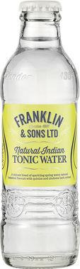 Franklin & Sons Natural Indian Tonic Water 200 ml x 24