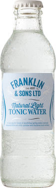 Franklin & Sons Natural Light Tonic Water 200 ml x 24