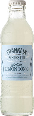 Franklin & Sons Sicilian Lemon Tonic 200 ml x 24