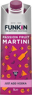 Funkin Passion Fruit Martini Cocktail Mixer 1 lt x 6