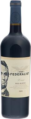 The Federalist Honest Red Blend, North Coast California