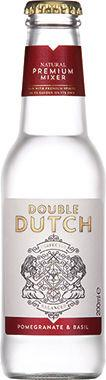 Double Dutch Pomegranate & Basil Tonic, NRB 200 ml x 24