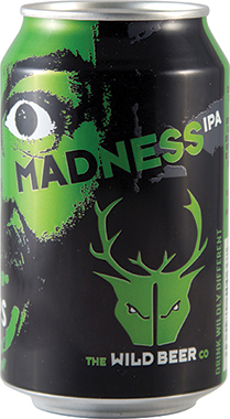 Wild Beer Madness IPA Can 330 ml x 24