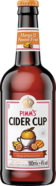 Pimm's Mango & Passion Fruit Cider Cup 500 ml x 8