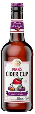 Pimms Cider - plum and red apple 500 ml x 8