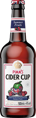 Pimm's Summer Fruits Cider Cup 500 ml x 8