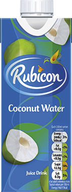 Rubicon Coconut Water, Tetra 330 ml x 12