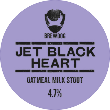 Brewdog Jet Black Heart, Keg 50 lt x 1
