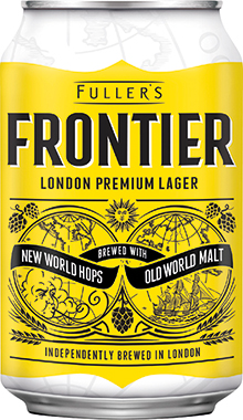 Frontier Lager 330 ml x 24