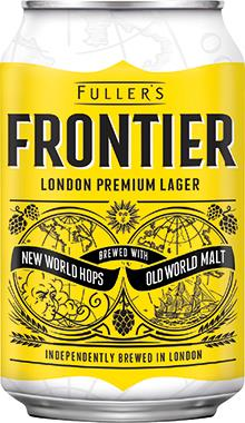 Frontier Lager, Can 330 ml x 24