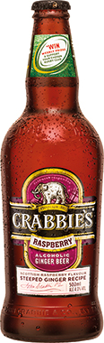 Crabbies Alcoholic Ginger Beer PET 500 ml x 12