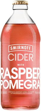 Smirnoff Cider Raspberry and Pomegranate 500 ml x 8