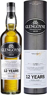 Glengoyne 12 Year Old Single Malt Whisky 43% ABV 70cl