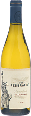 The Federalist Chardonnay, Mendocino County