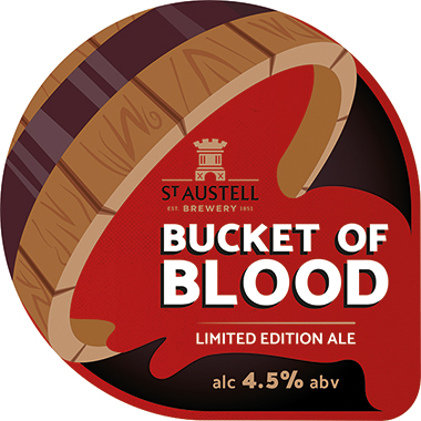 Bucket Of Blood, Cask 9 gal x 1