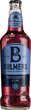 Bulmers Blueberry and Lime 500 ml x 12
