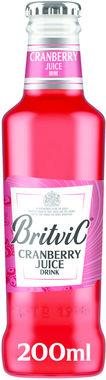 Britvic Cranberry Juice 200 ml x 24