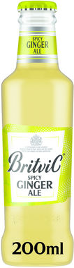 Britvic Ginger Ale 200 ml x 24