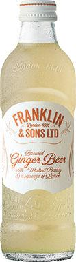 Franklin & Sons Original Ginger Beer 200 ml x 24